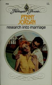 Cover of: Research Into Marriage
