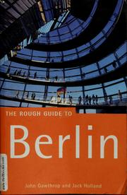 Cover of: The rough guide to Berlin | Holland, Jack