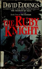 Cover of: The ruby knight