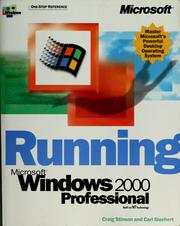 Cover of: Running Microsoft Windows 2000 professional