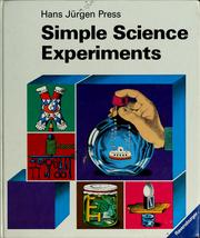 Cover of: Simple science experiments |