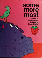 Cover of: Some, more, most | Judy Freudberg