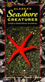 Cover of: Alaska's seashore creatures