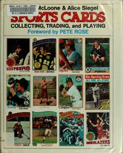 Cover of: Sports cards, collecting, trading, and playing