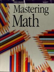 Cover of: Steck-Vaughn mastering math