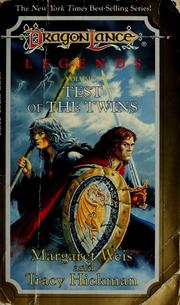 Cover of: Test of the Twins