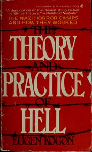 Cover of: Theory and practice of hell