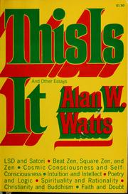 Cover of: This is it | Alan Watts