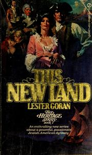 Cover of: This new land