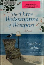 Cover of: The three Weissmanns of Westport