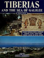 Cover of: Tiberias and the Sea of Galilee