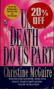 Cover of: Until death do us part