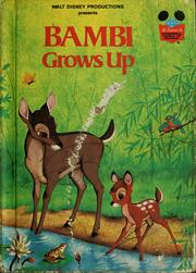 Cover of: Walt Disney's Bambi grows up