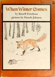Cover of: When winter comes | Russell Freedman