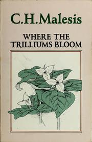 Cover of: Where the trilliums bloom