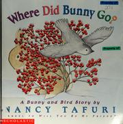 Cover of: Where did Bunny go?