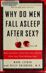 Cover of: Why do men fall asleep after sex?