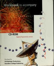 Cover of: Workbook to accompany Saunders core concepts in college physics CD-ROM
