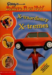 Cover of: X-traordinary, x-tremes | Mary Packard