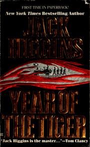 Cover of: Year of the tiger by Jack Higgins