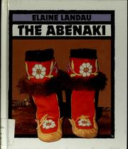 Cover of: The Abenaki