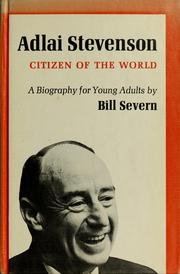 Cover of: Adlai Stevenson by Bill Severn