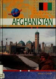 Cover of: Afghanistan