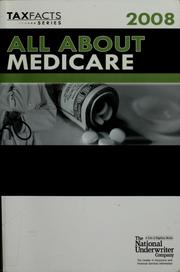 Cover of: All about Medicare, 2008 | John H. Fenton