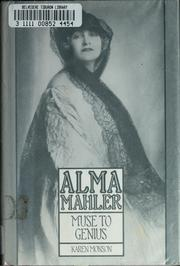 Cover of: Alma Mahler, muse to genius | Karen Monson