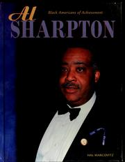 Cover of: Al Sharpton | Hal Marcovitz