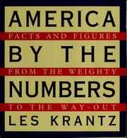 Cover of: America by the numbers