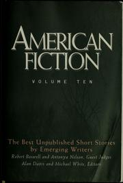 Cover of: American fiction