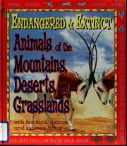 Cover of: Animals of the mountains, deserts, and grasslands