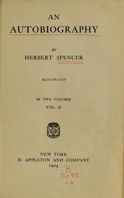 Cover of: An autobiography, volume 02