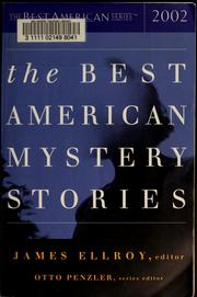 Cover of: The best American mystery stories 2002 | James Ellroy