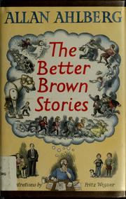 Cover of: The better Brown stories