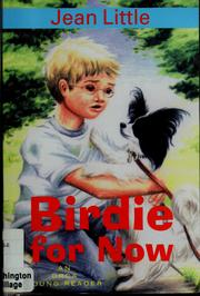Cover of: Birdie for now