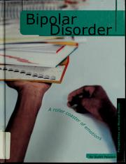 Cover of: Bipolar disorder