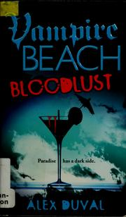 Cover of: Bloodlust