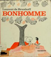 Cover of: Bonhomme