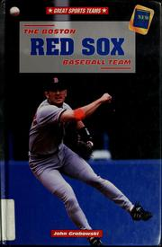 Cover of: The Boston Red Sox baseball team