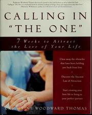 "Cover of: Calling in ""the one"""