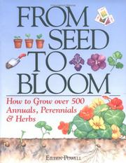 Cover of: From seed to bloom | Eileen Powell