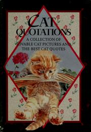 Cover of: Cat quotations