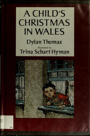 Cover of: A child's Christmas in Wales