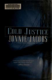 Cover of: Cold justice | Jonnie Jacobs