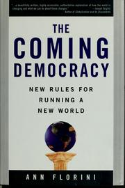 The coming democracy by Ann Florini
