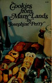 Cover of: Cookies from many lands | Josephine Perry