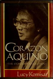 Cover of: Corazon Aquino | Lucy Komisar