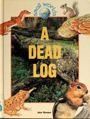 Cover of: A dead log